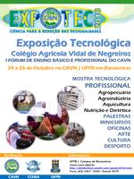 """A temática da 24ª EXPOTEC CAVN é """"Ciência para Redução das Desigualdades"""""""
